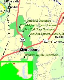 Months Ago As We Passed Through Maryland And Proceeded Into Pennsylvania We Passed Sharpsburg And The Antietam National Battlefield