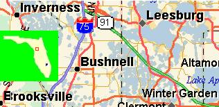 Bushnell Florida Map.Untitled